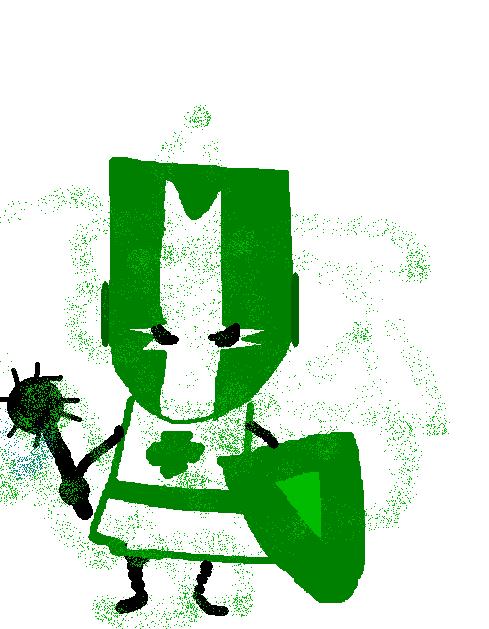 Castle Crasher (Green)