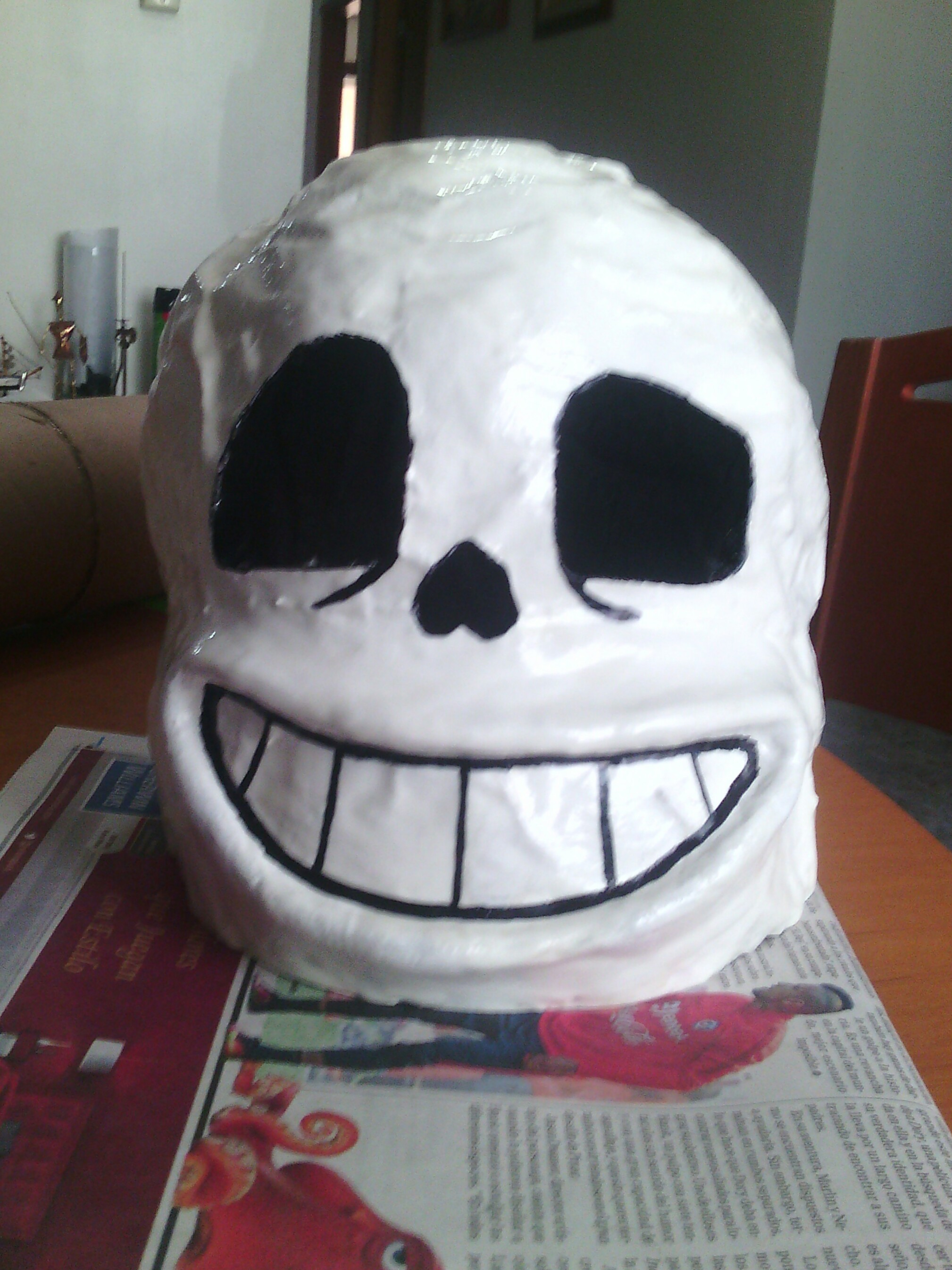 sans mask cosplay 2