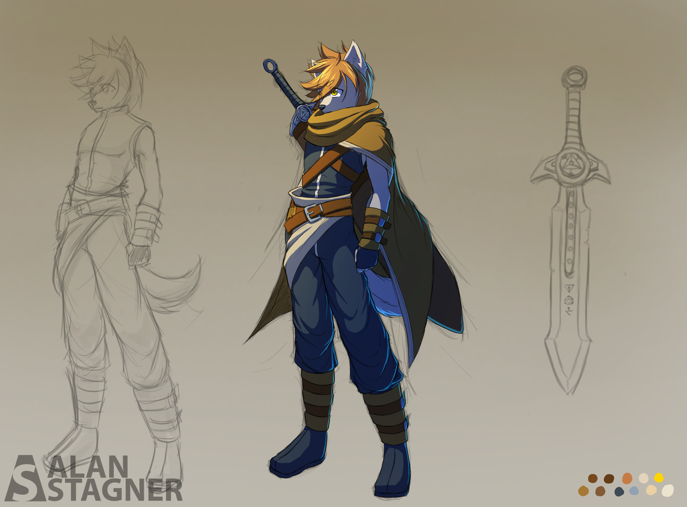 Character Concept: Gier The Demon Hunter