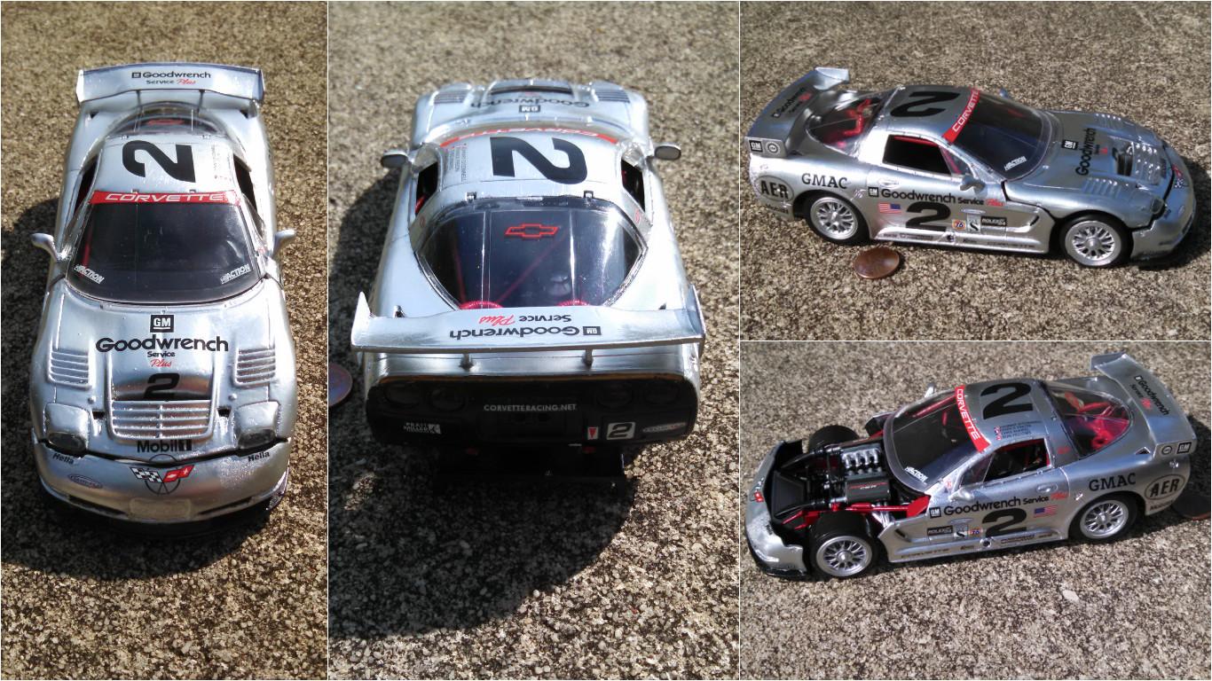 1/24 Revell 2001 Corvette C5-R