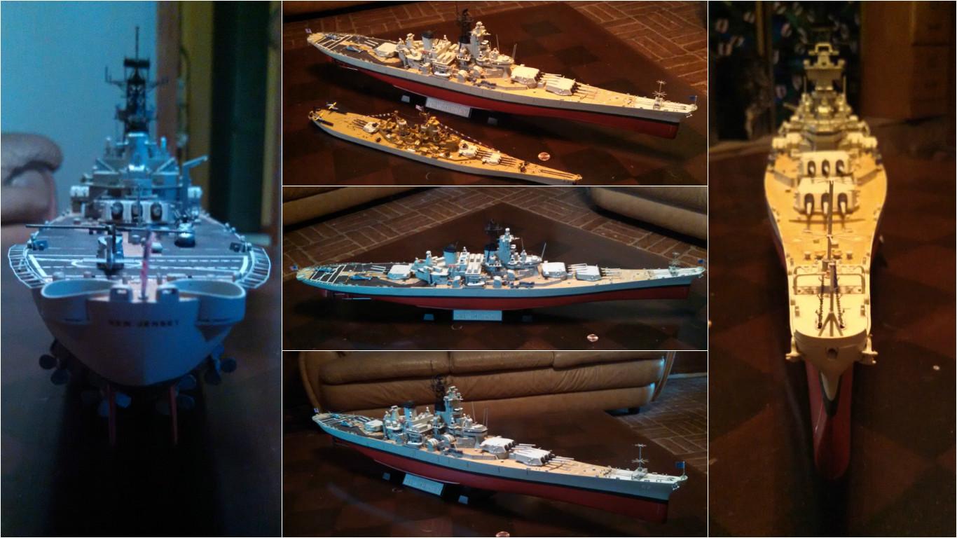 1/350 Tamiya USS New Jersey