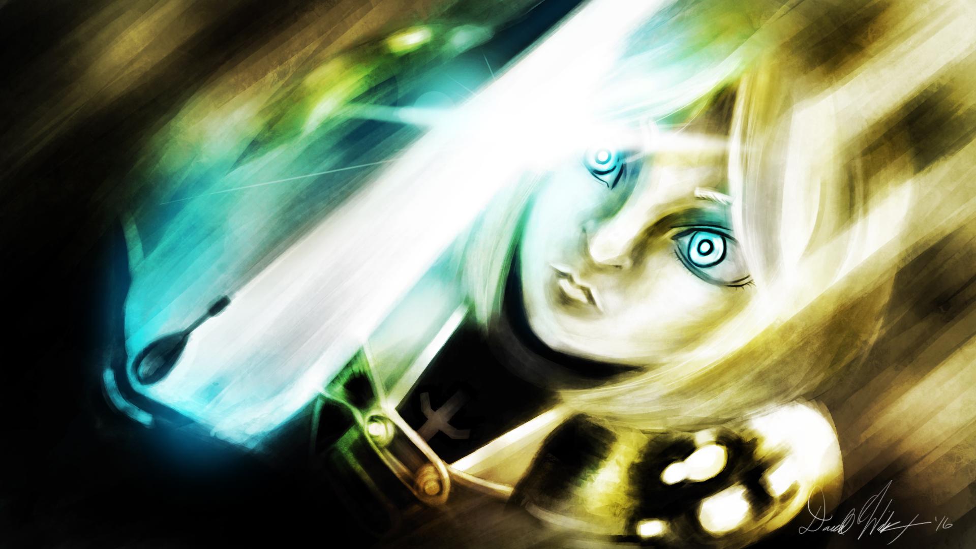 Silver-Eyed (Fan Art)