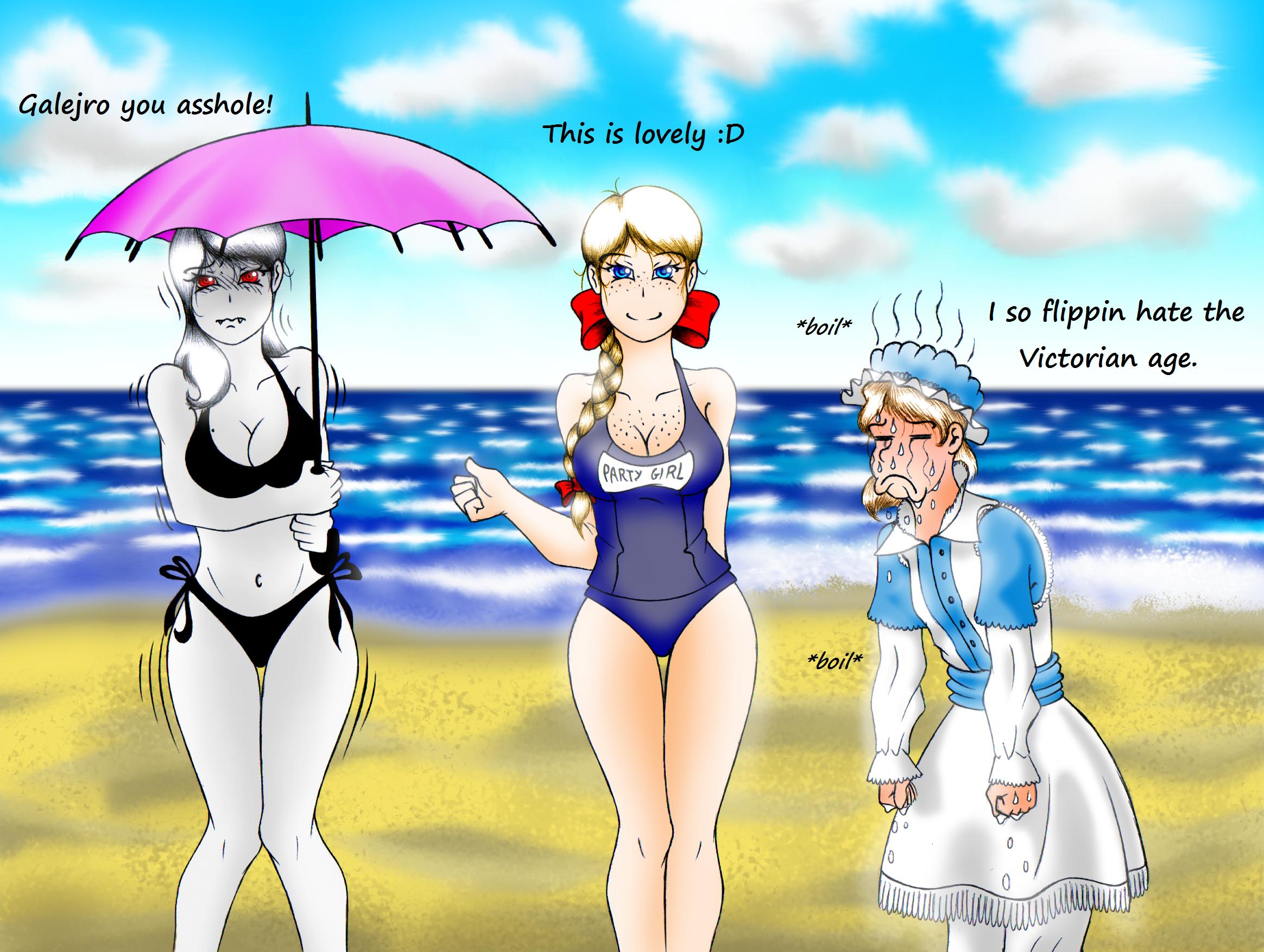 Obligatory Beach Shenenigans