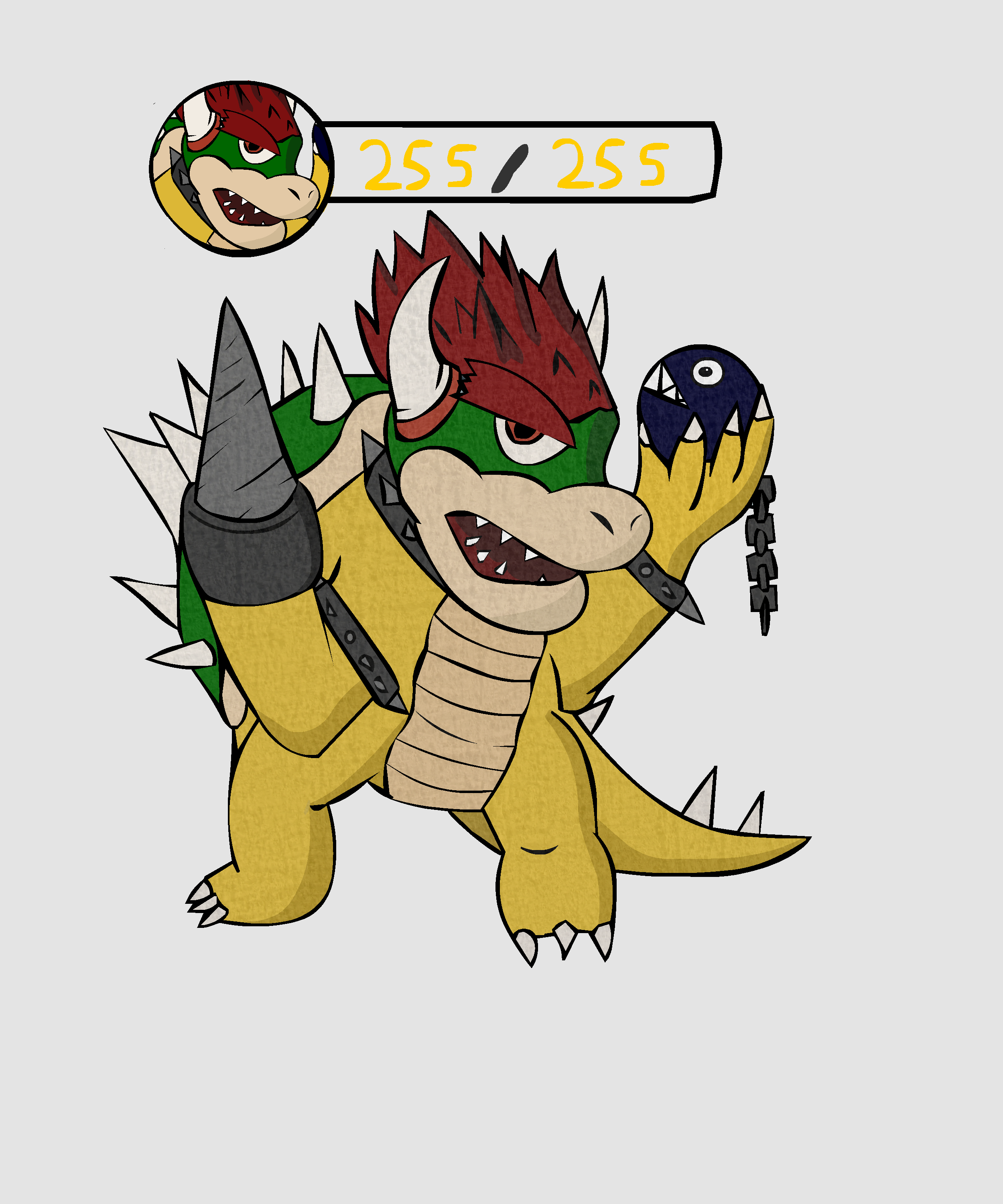Bowser from Super Mario RPG