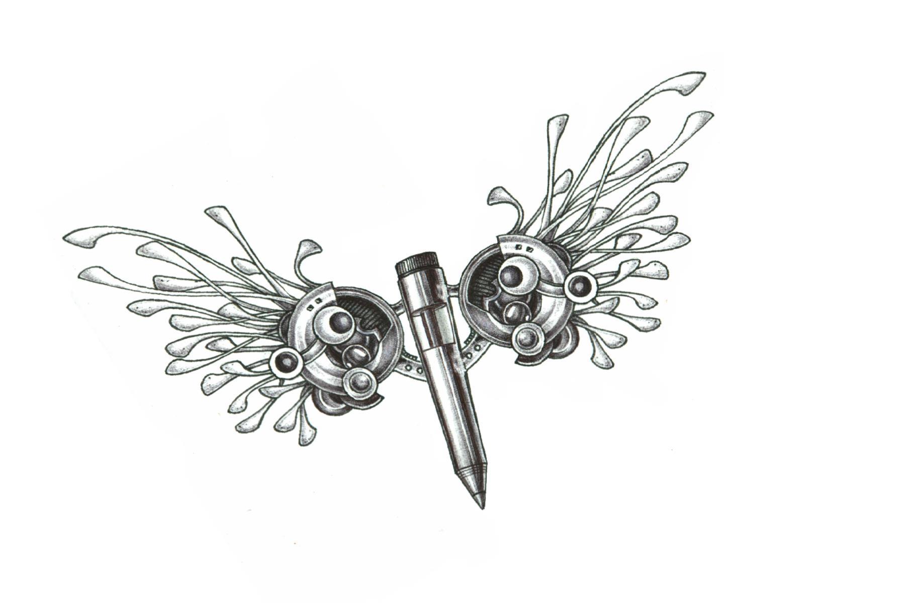 2014 pencil wing design