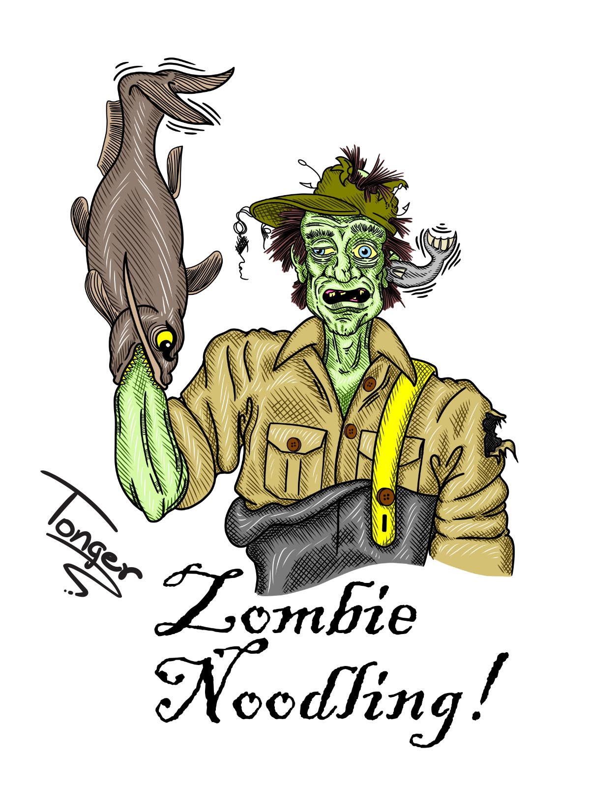 Zombie Noodling