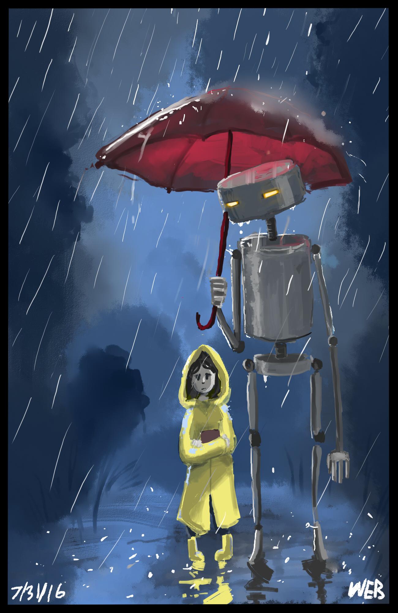 Its still raining