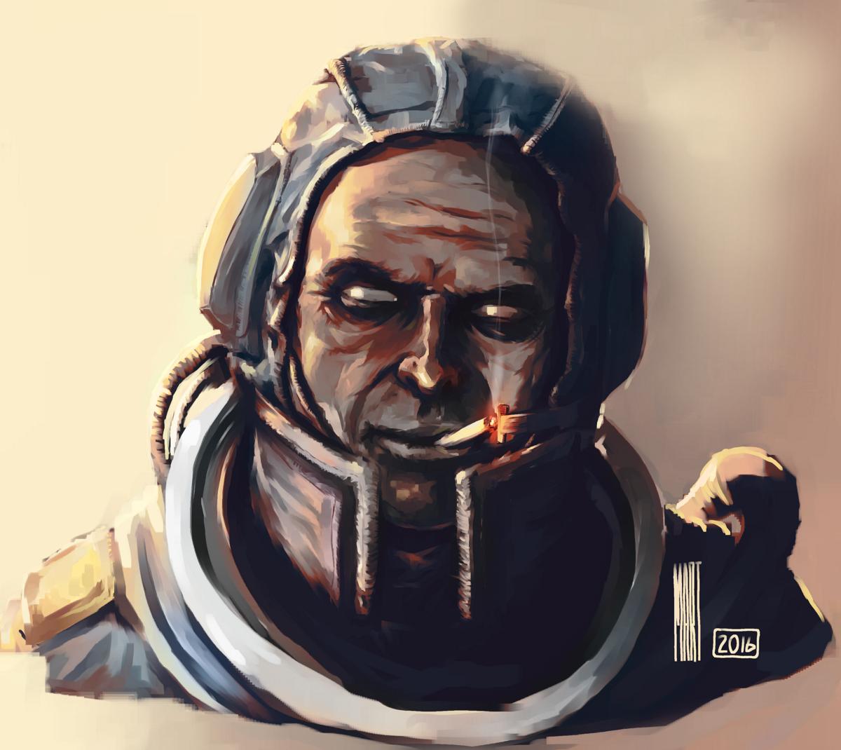 Thank you - Astronaut Speedpaint