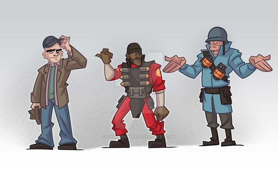 BT4W: TF2 web comic
