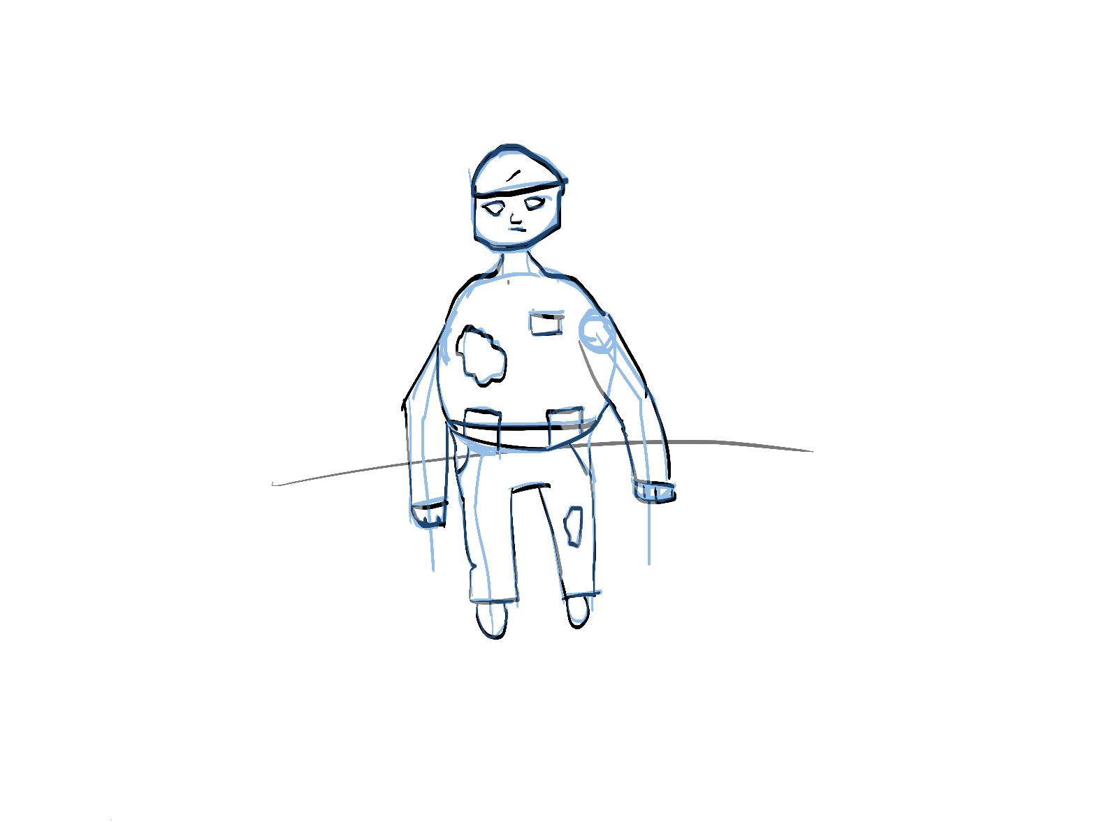 Random unfinished draw