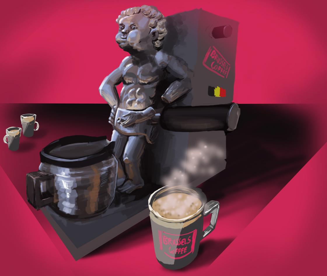 Manneken koffie