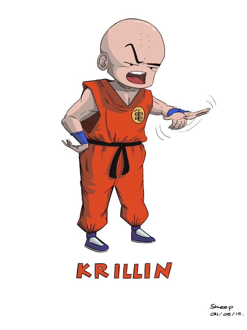 Daily 006 (1/3): Krillin