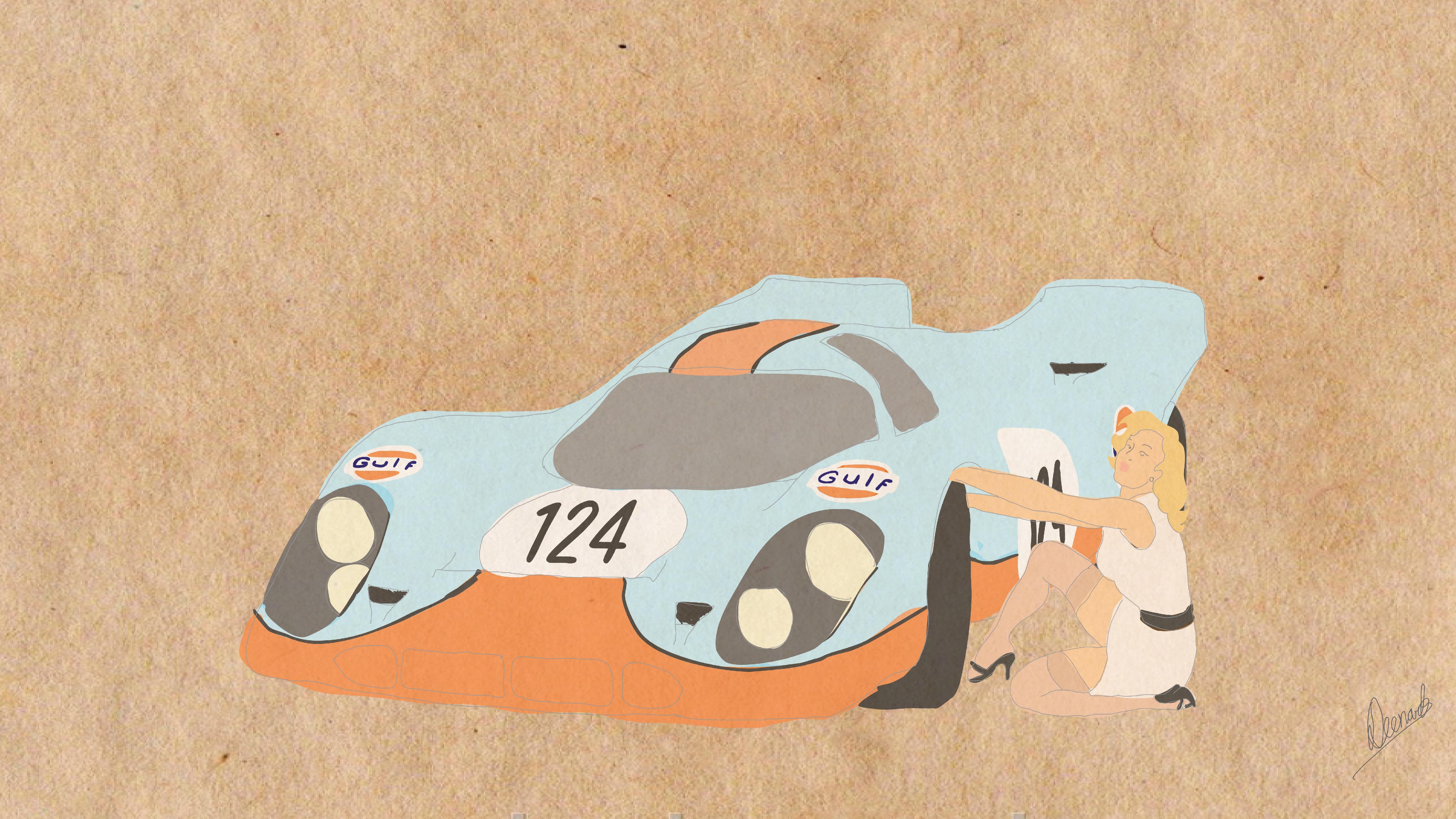 Porsche 917 Pit Stop