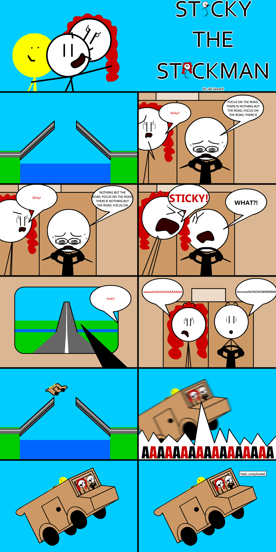 Sticky the Stickman - Comic 3