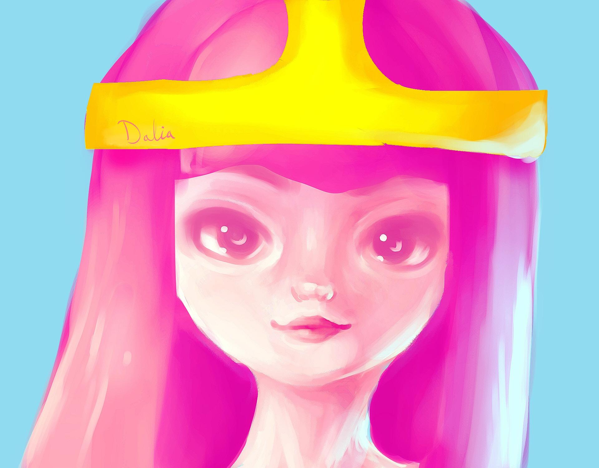 Portrait 12 (princess bubblegum)