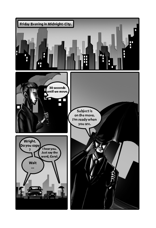 Check Mate - Issue 1 - Page 1