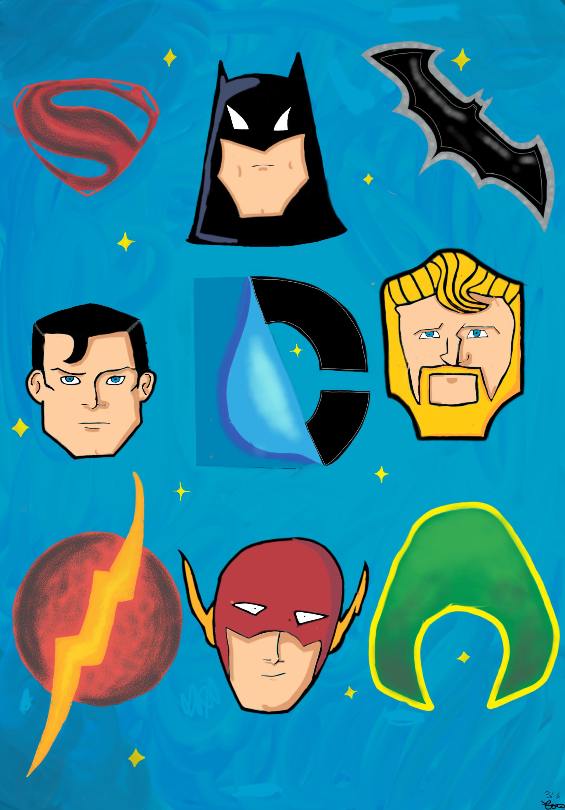 DC comics - Tale Tellers