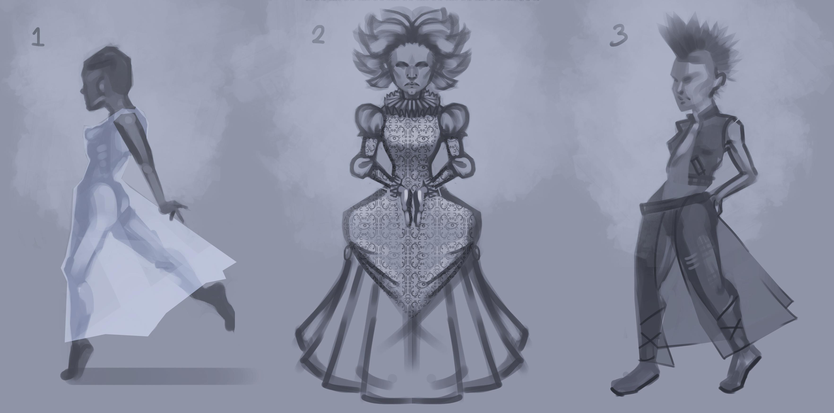 Snow Queen Concept art
