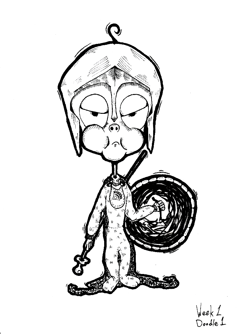 A Doodle A Day - Week 1 - Doodle #1