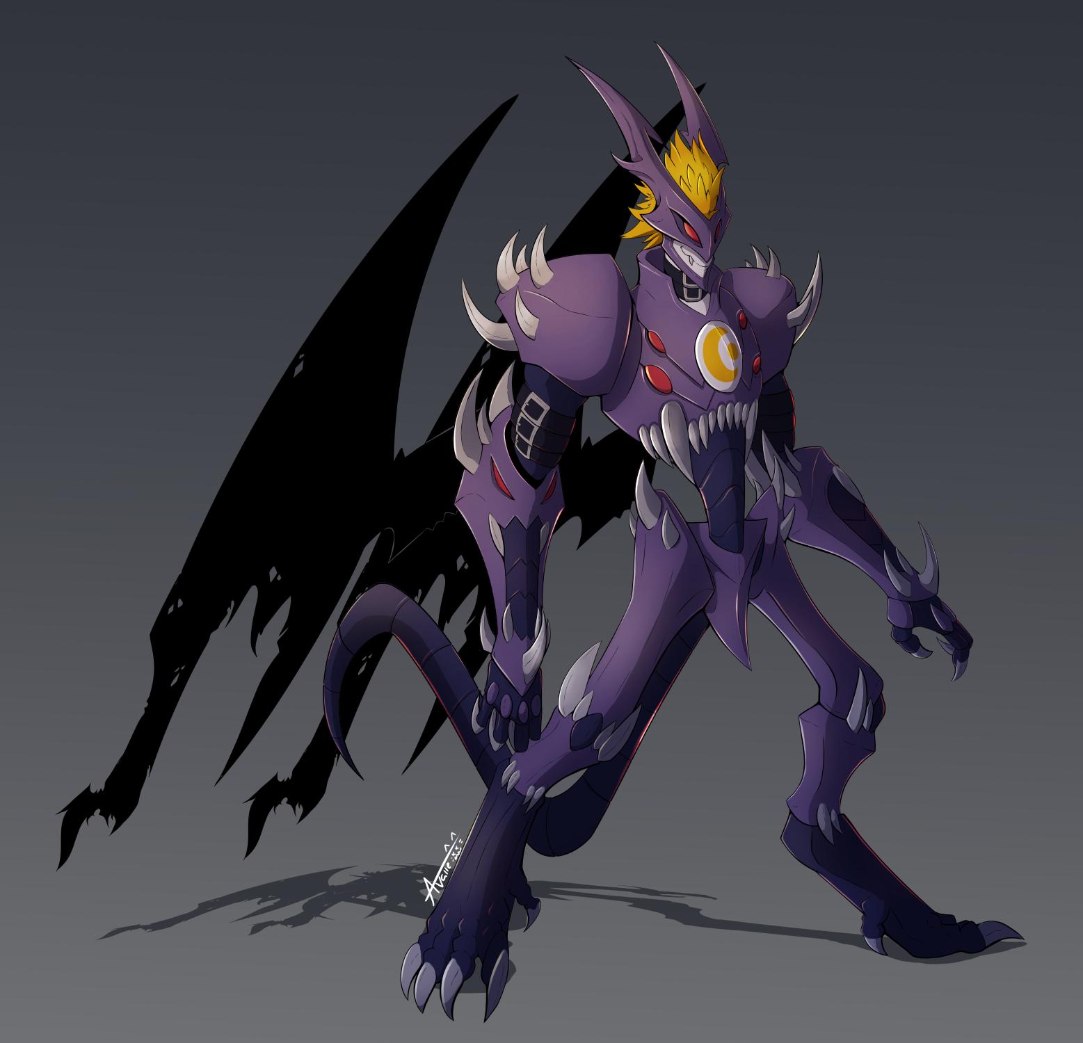 Neomyotismon by Undead...