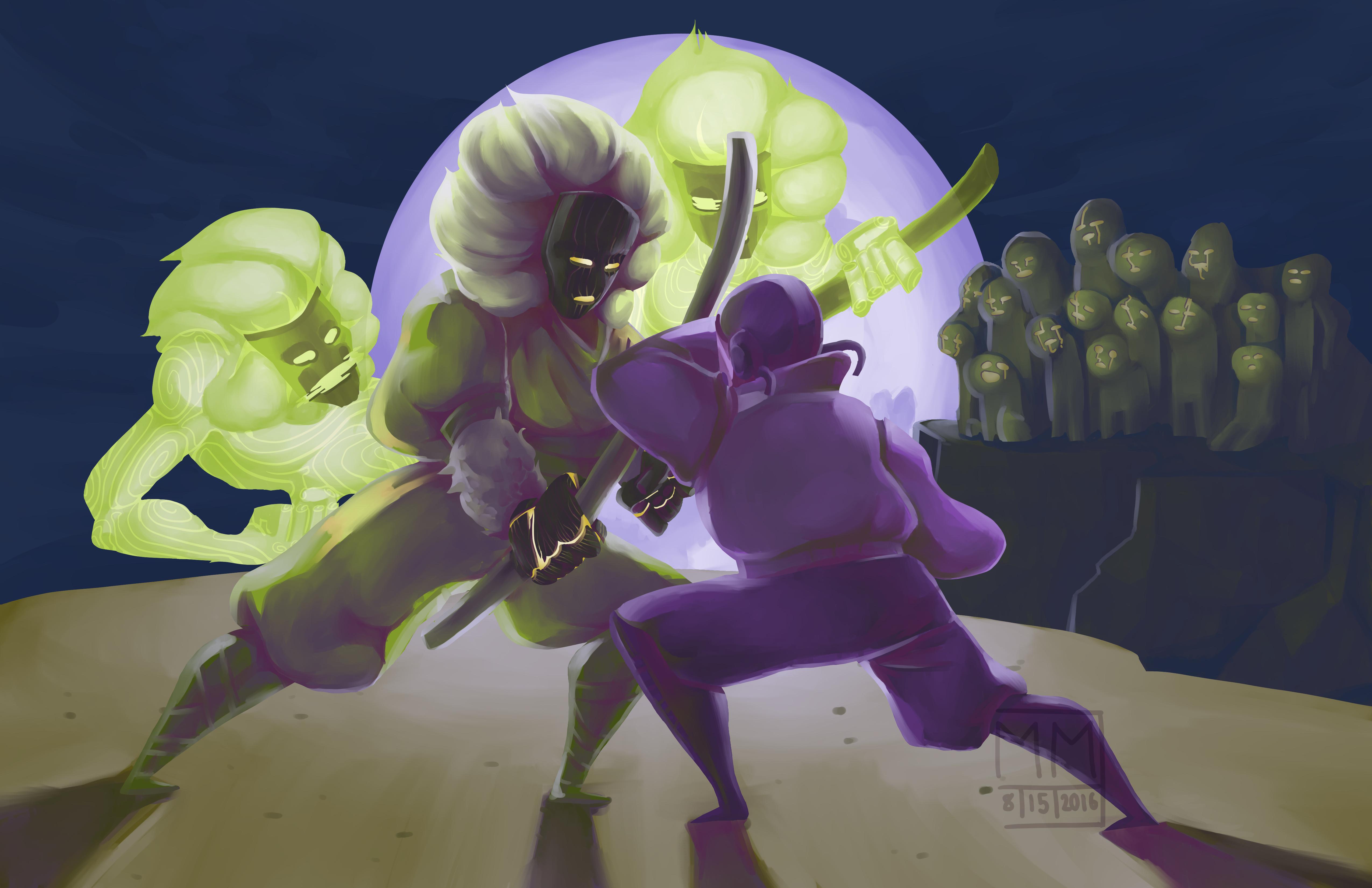 Moon Light Fight