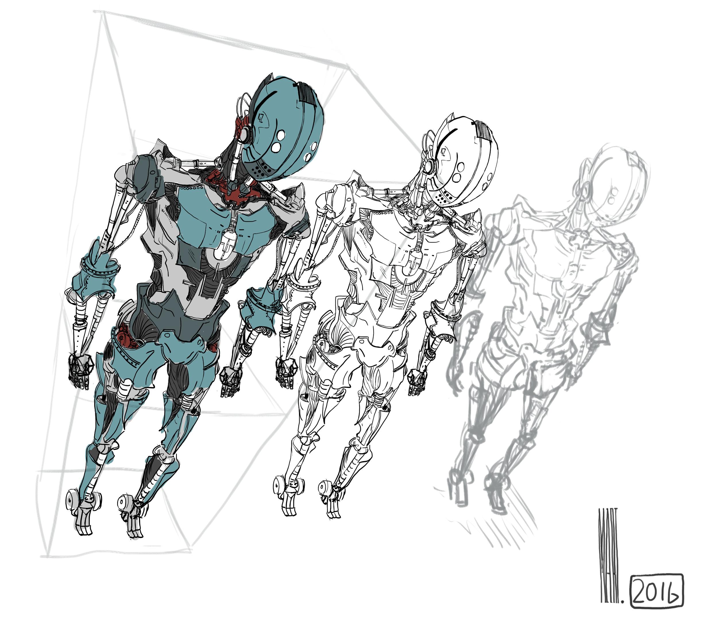 Robot design   Perspective practice