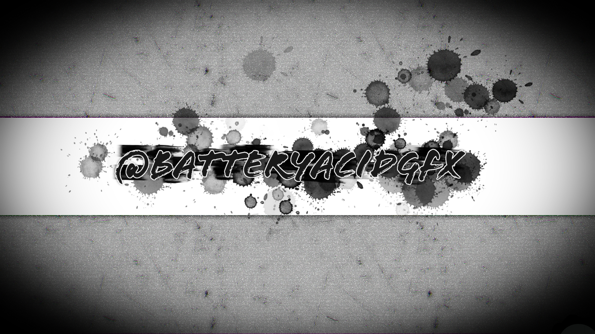 My youtube / twitter banner