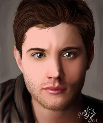 Supernatural Dean Wichester (Jensen Ackles)