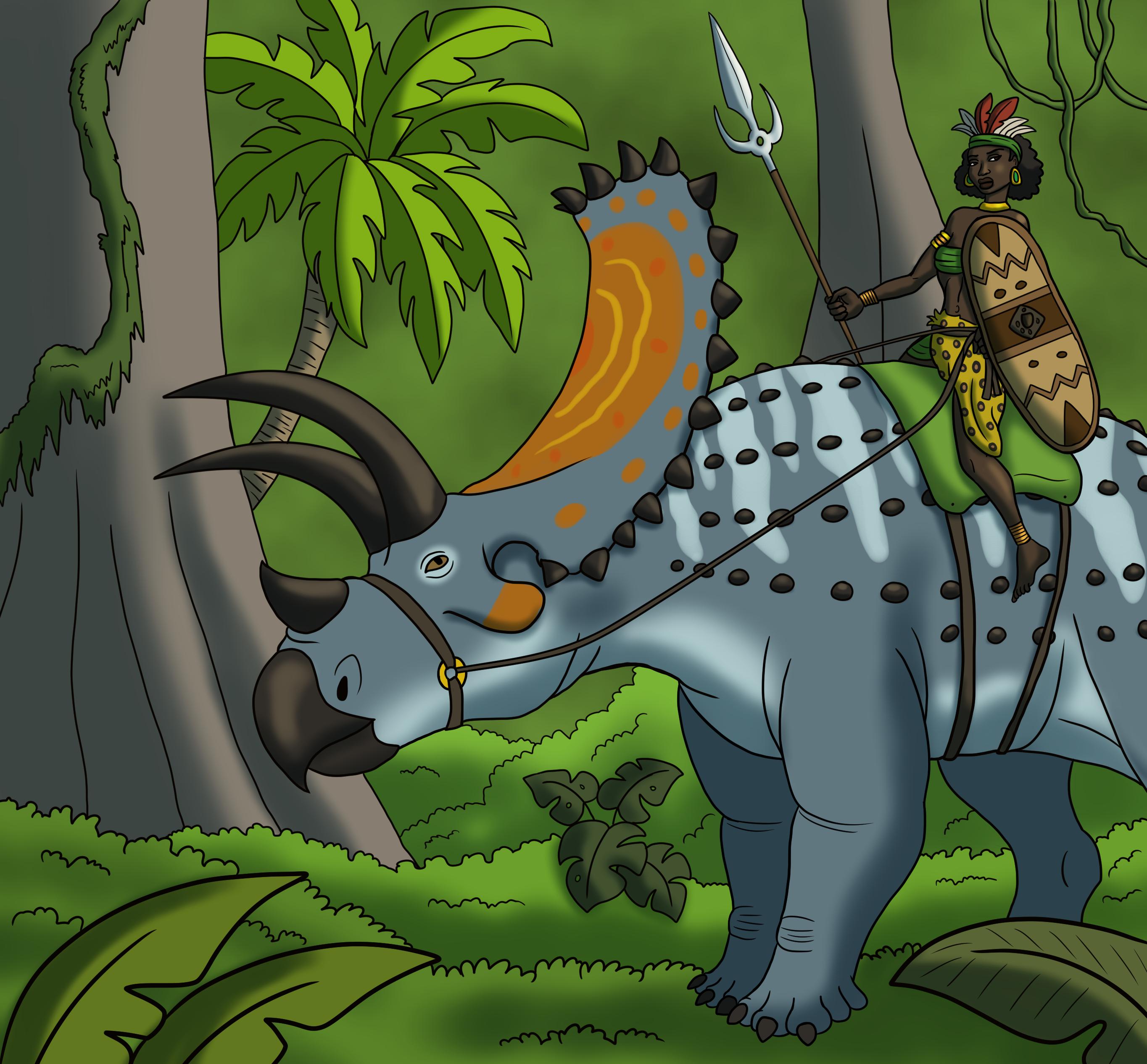 Titanoceratops Rider