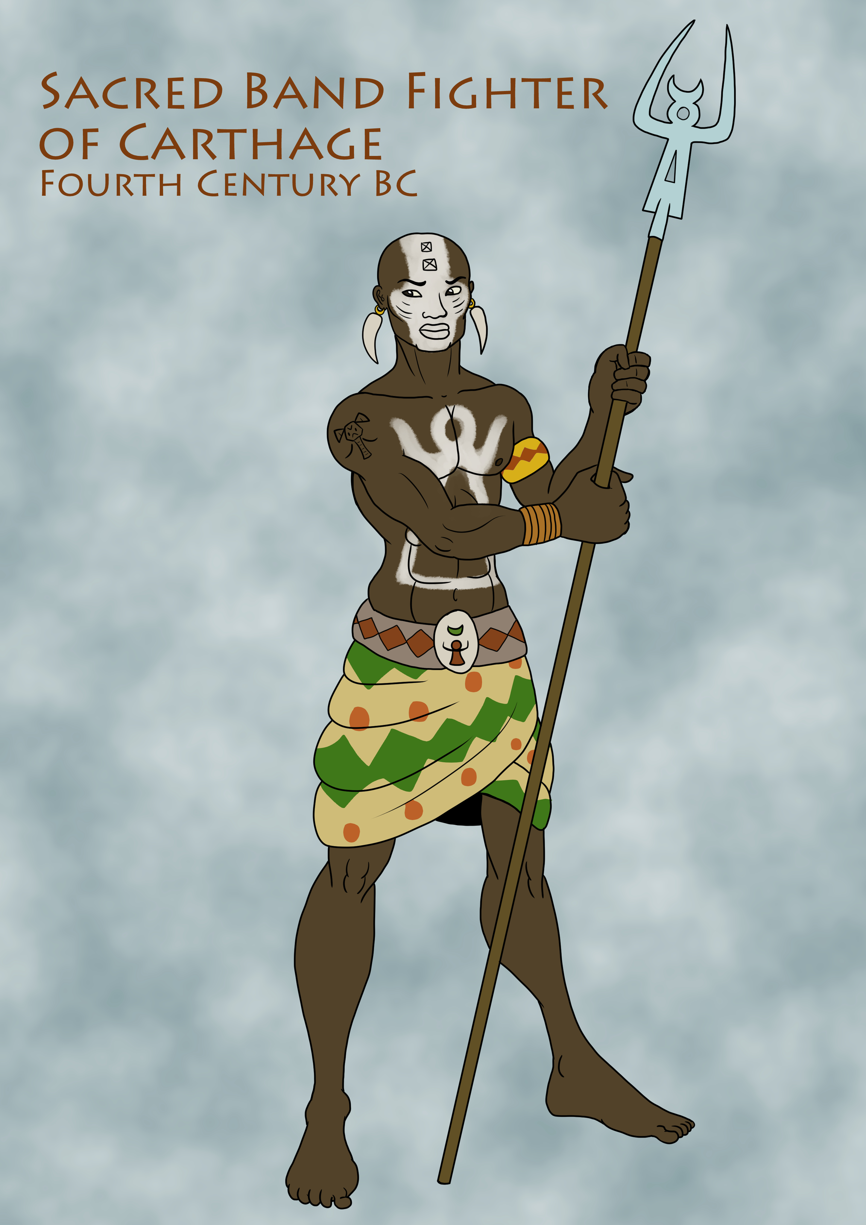 Sacred Band Fighter of Carthage