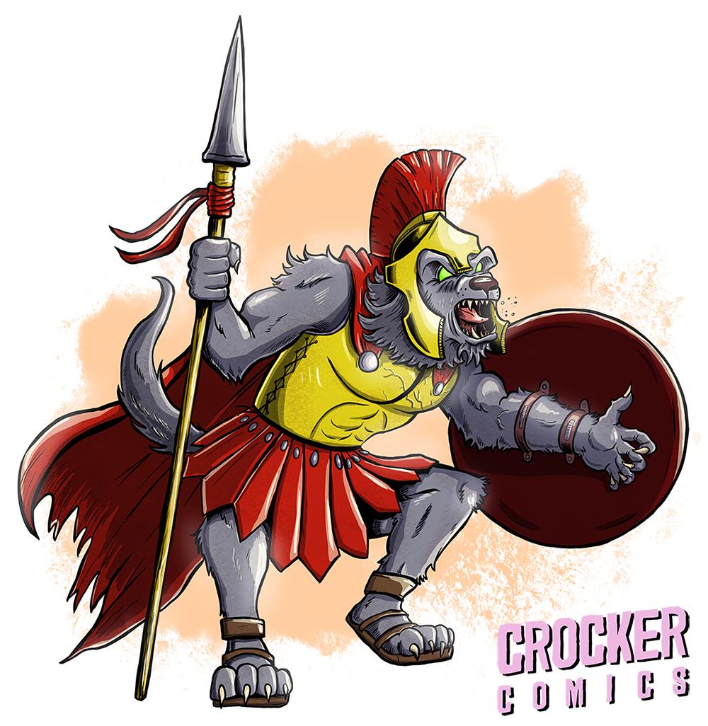 Spartan Werewolf