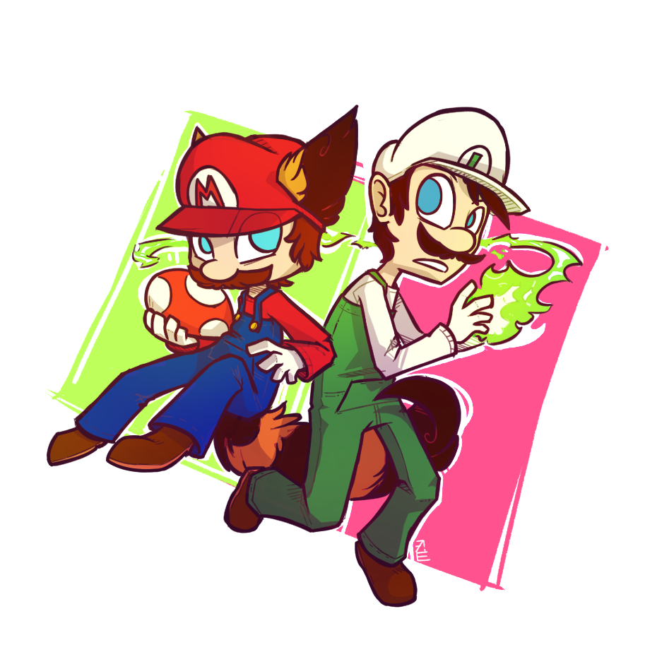 Mario and brother
