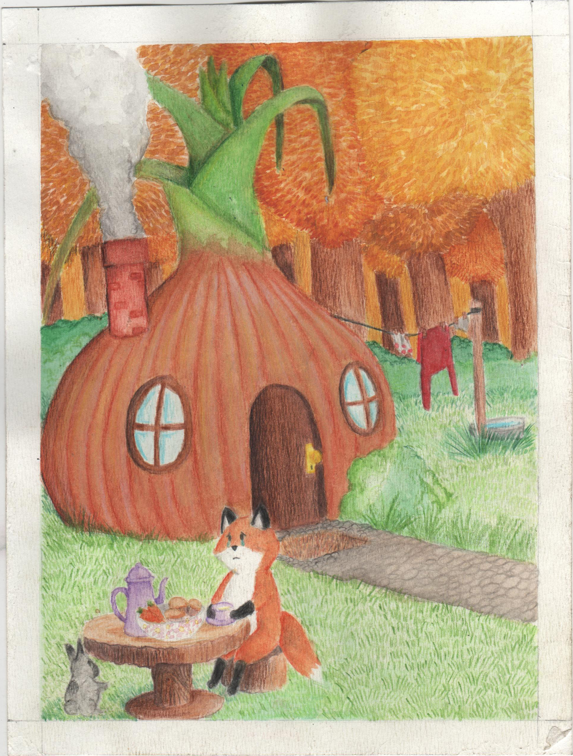 casa cebolla/ onion house