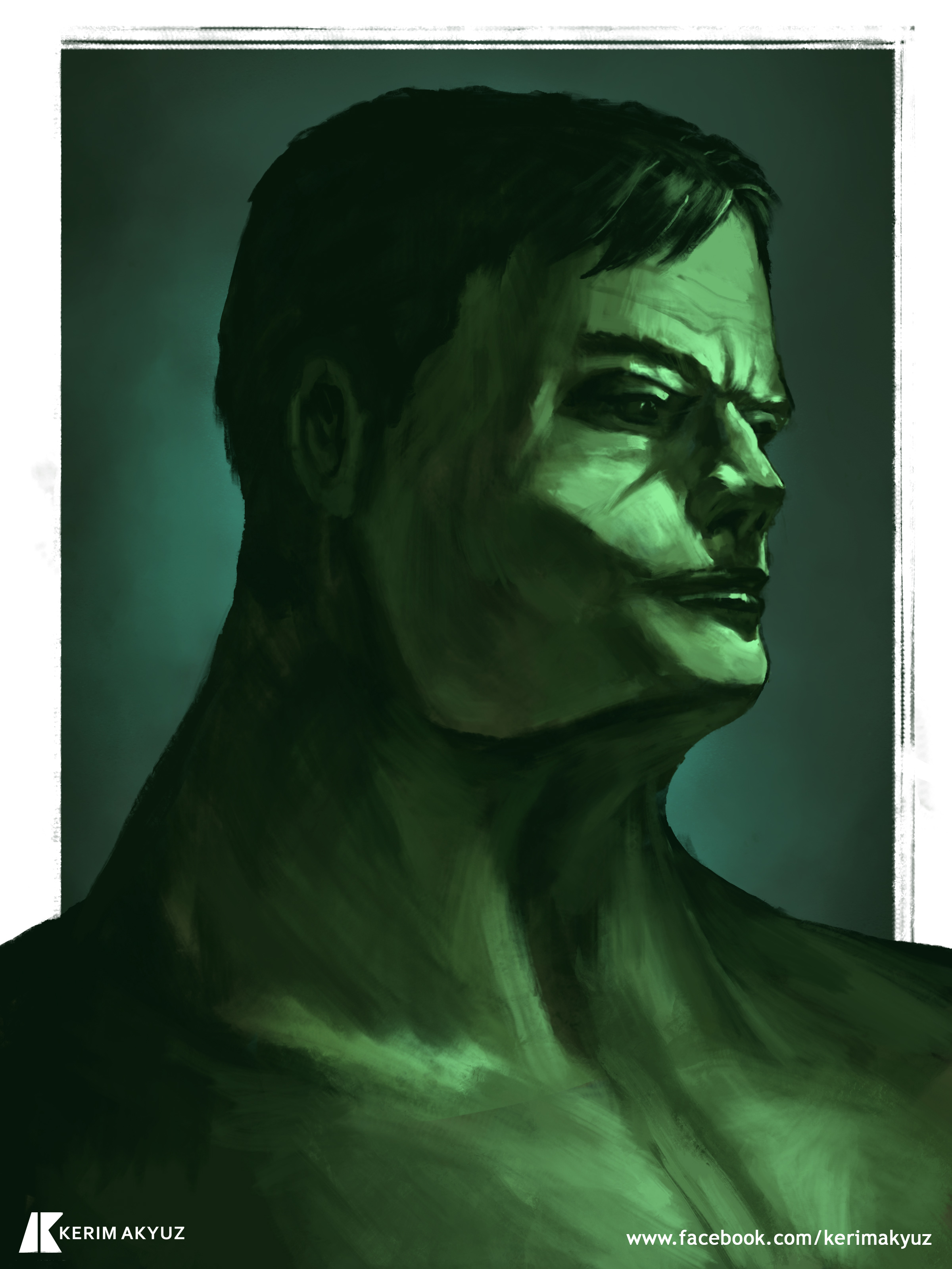 Daily Imagination #355 - The Hulk