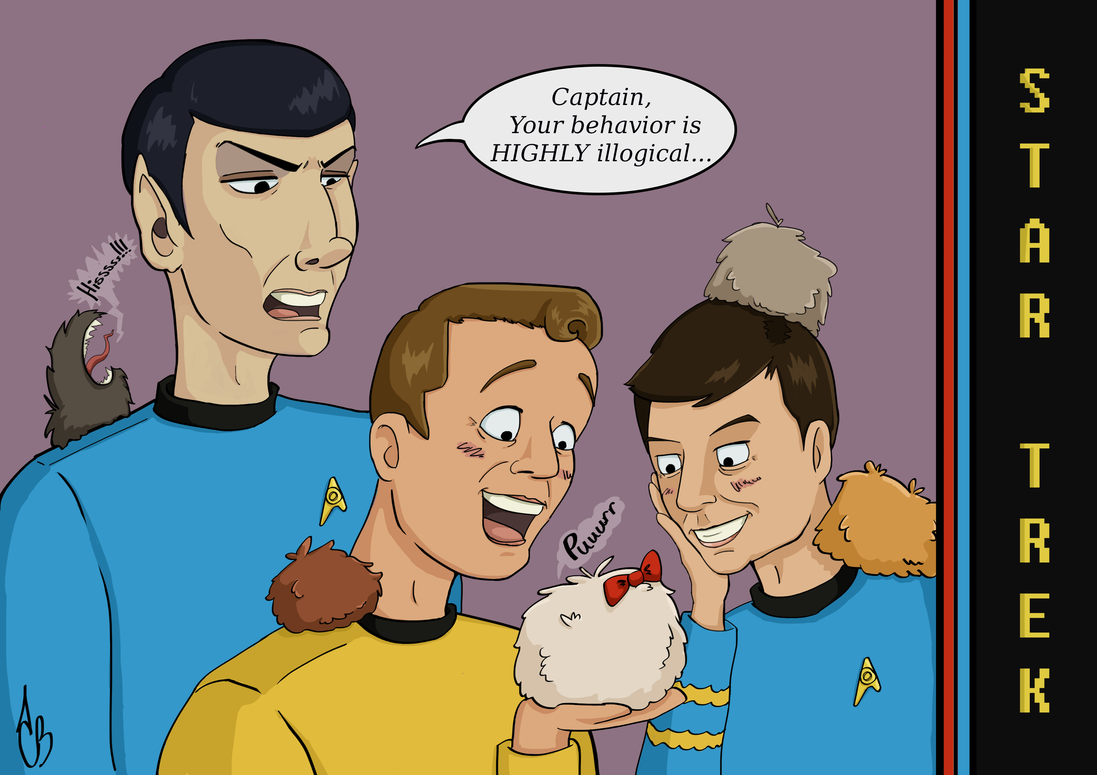 "Star Trek ""Trouble with Tribbles"""