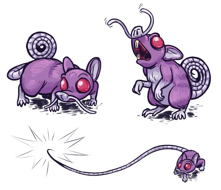 Halls Form, Ratata