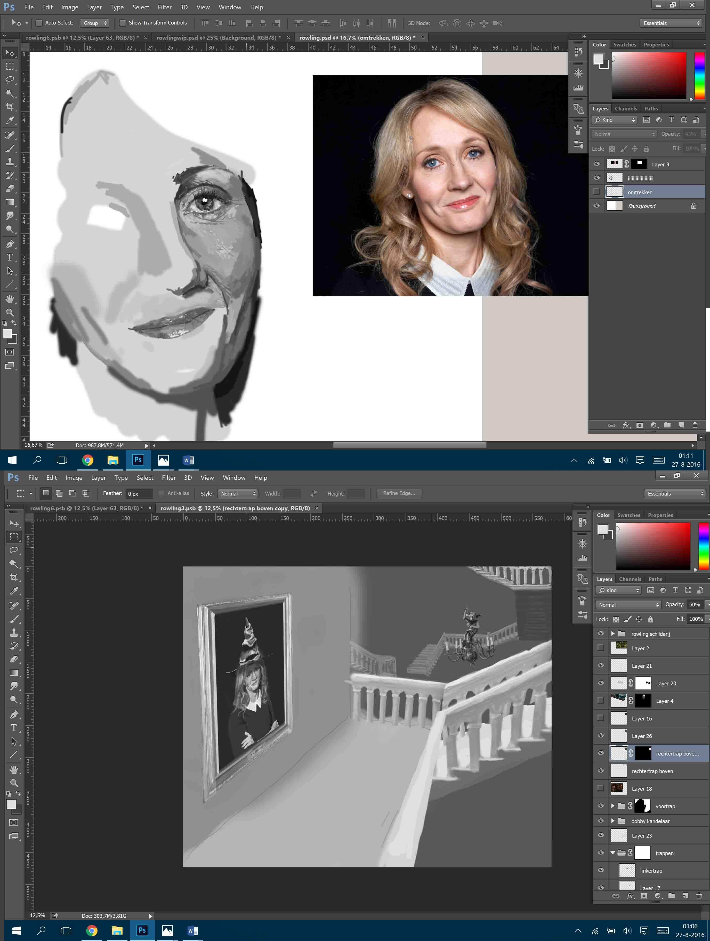 Work in progress - The smart lady