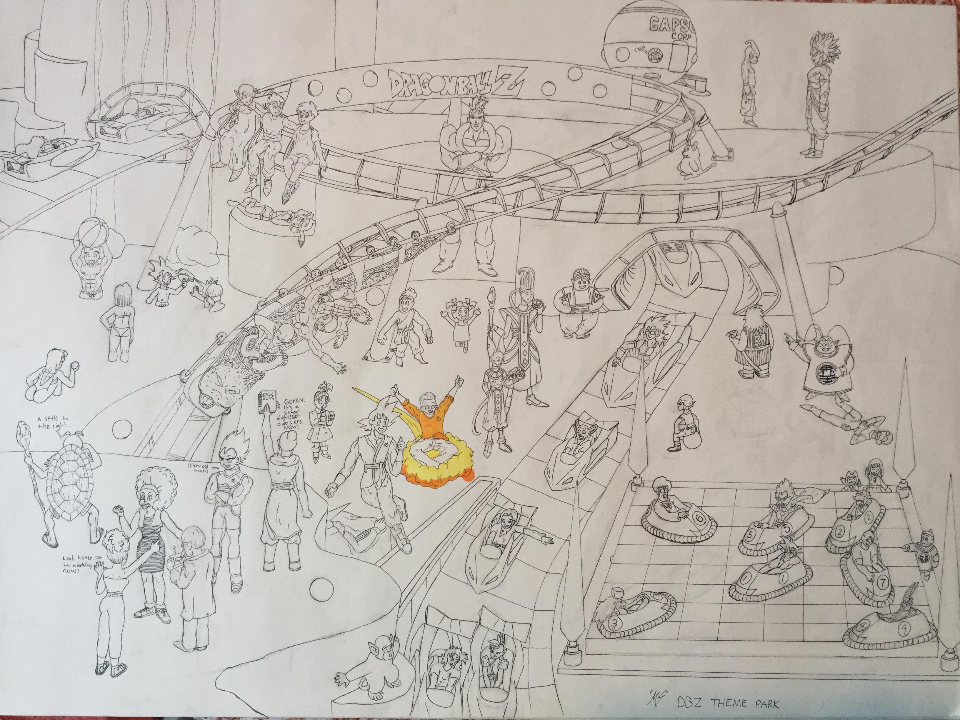 DBZ Theme Park
