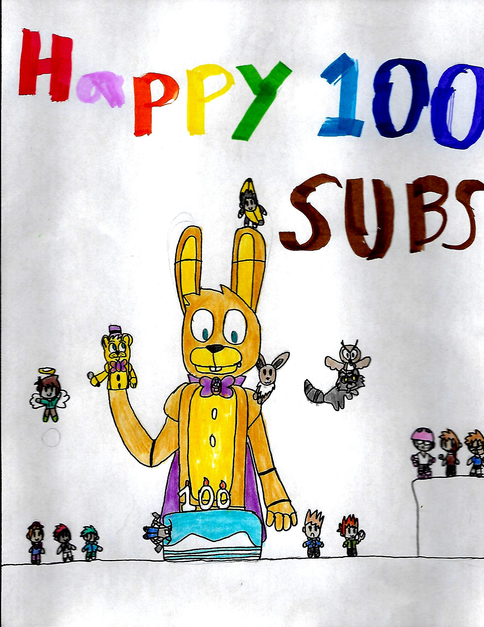 100 Subs Special