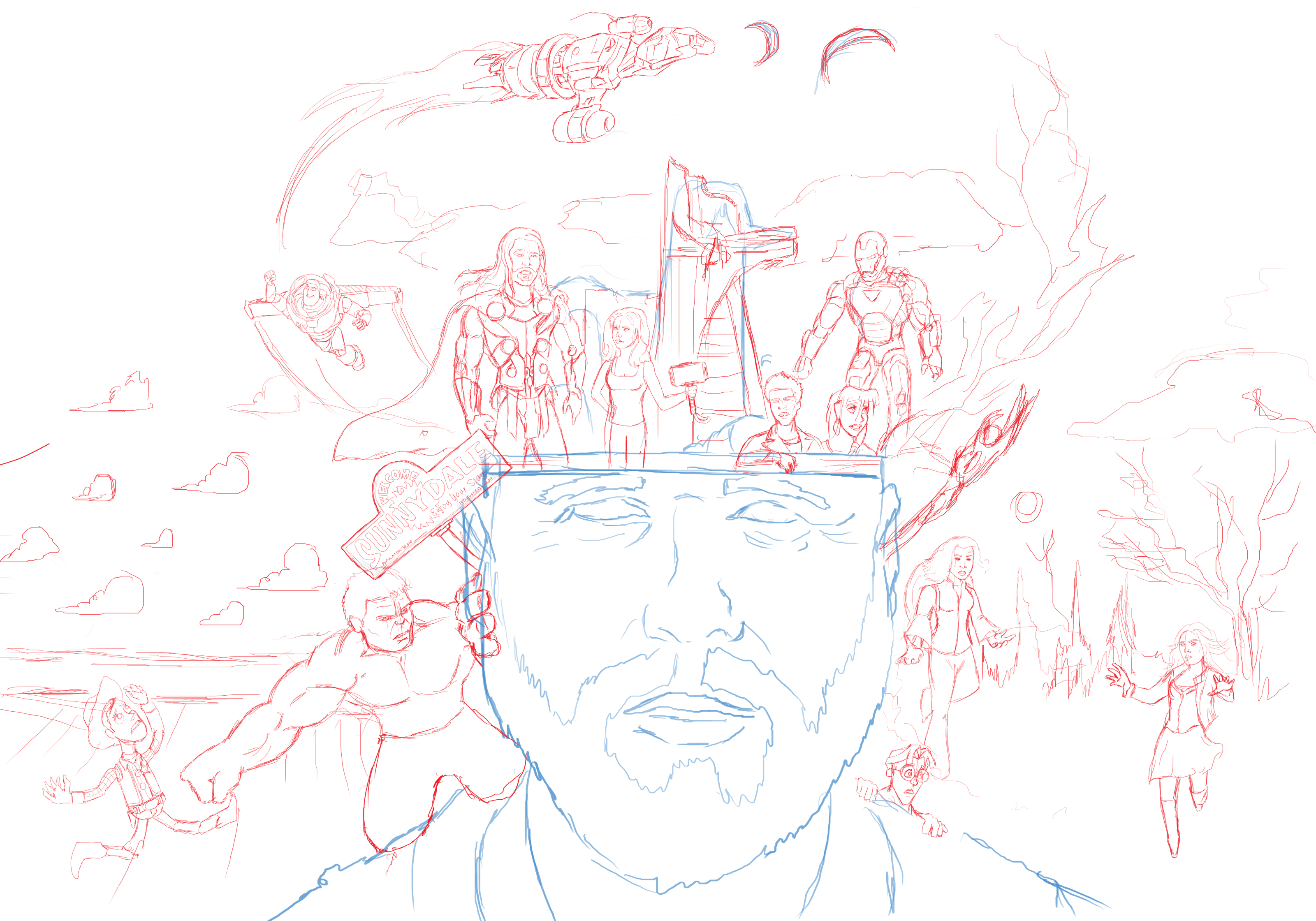 Joss Whedon: Thinking Out Loud WIP