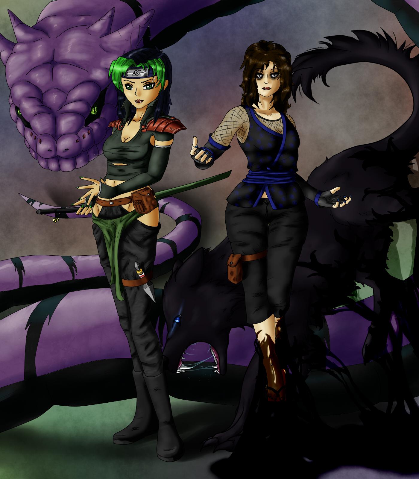 Rouge Ninja Duo