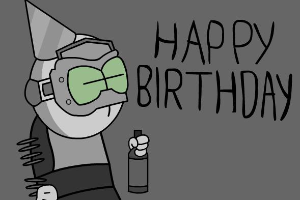 Happy Birthday Grumpy666