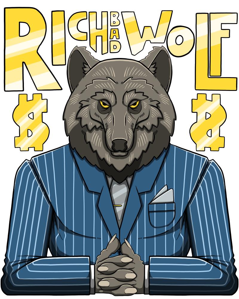 Rich bad wolf