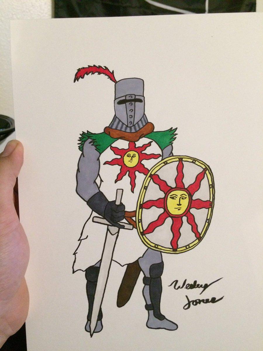 Solaire of Astora (quick sketch)