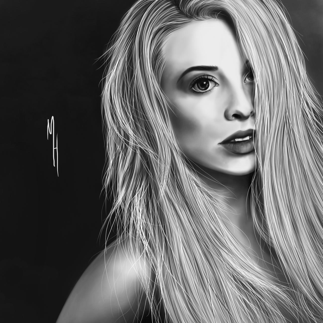 Lottie Darko Portrait