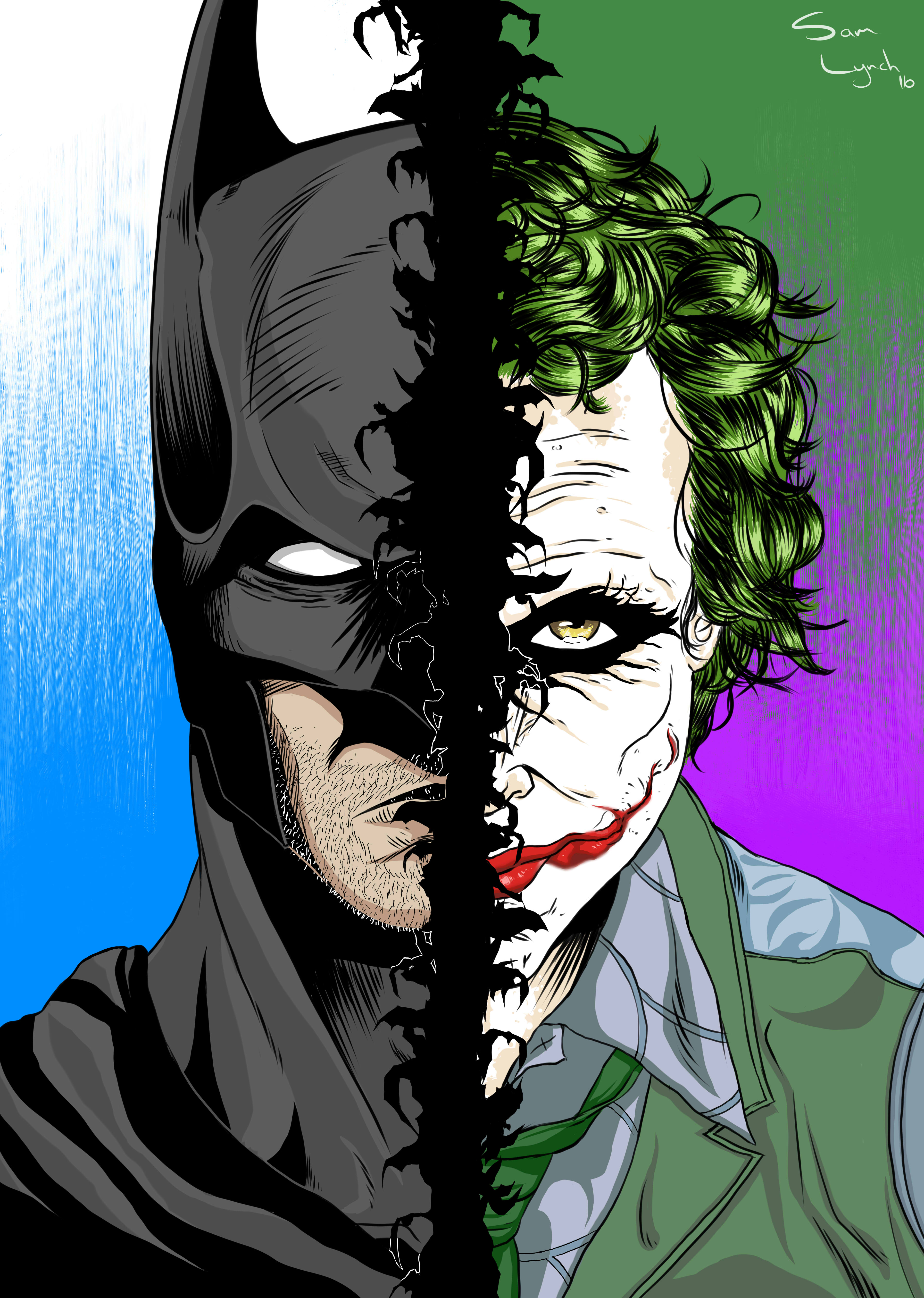 Batman -VS- Joker