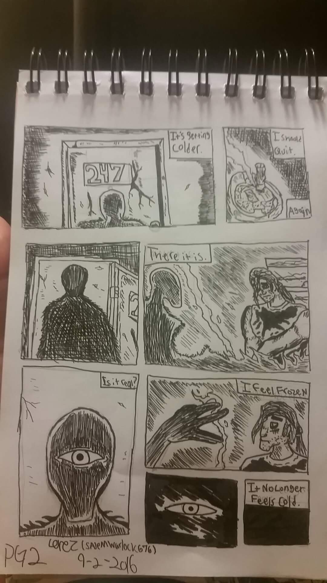 The Days Before January Page 2