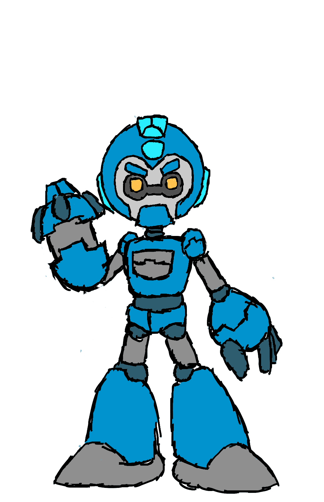 Mega Man APEX.