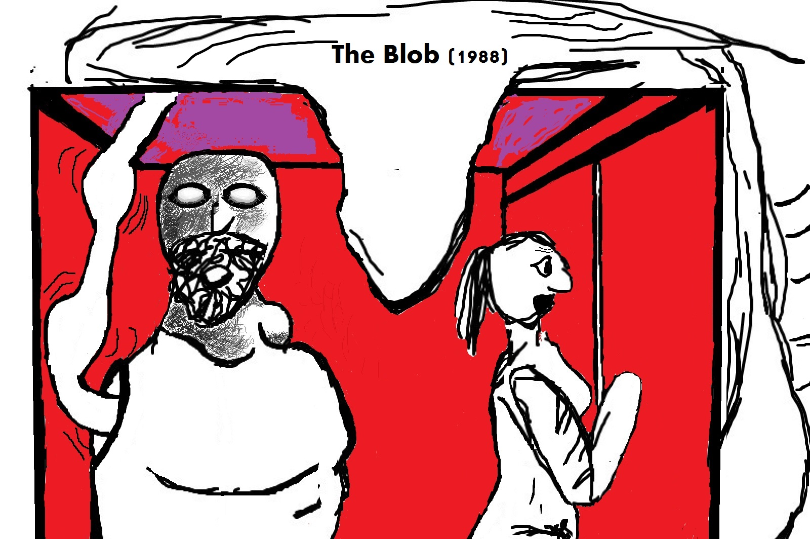 The Blob don't allow humans to live