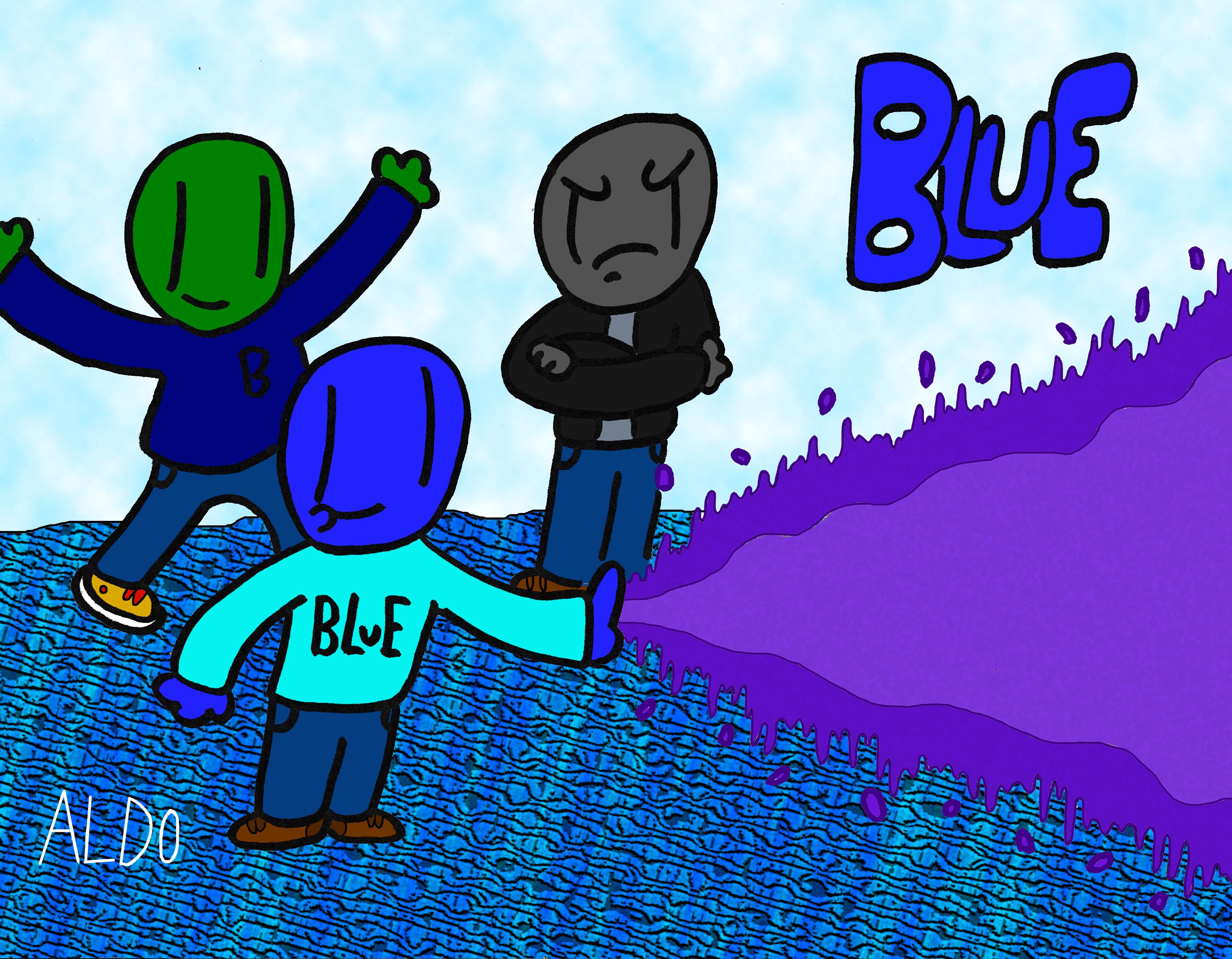 Blue-Aldo